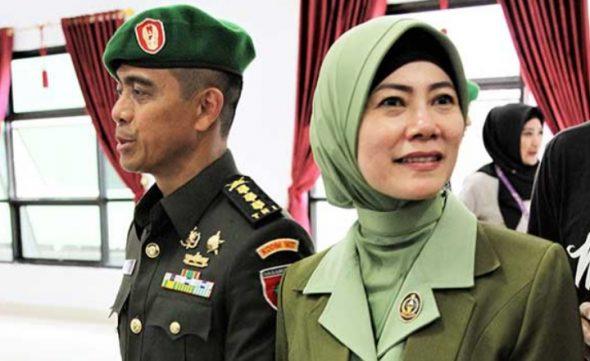 mantan Komandan Kodim (Dandim) Kendari Kolonel Kav Hendi Suhendi, Irma Zulkifli Nasution