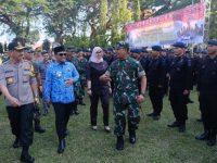 Wagub Sulsel Cek Kesiapan Personil Pengamanan Jelang Pelantikan Presiden