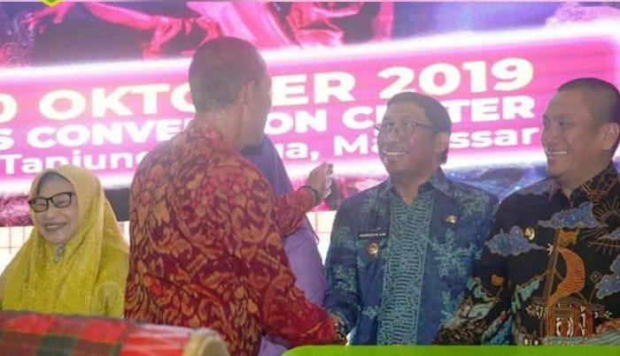 Wakil Bupati Barru Hadiri Pekan Raya Sulsel