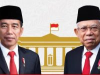 Presiden Jokowi dan Wakil Presiden KH Ma'ruf Amin. (Ist)