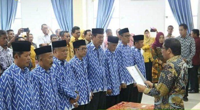Wakil Bupati Barru Lantik Pengurus Dewan Pendidikan Masa Bakti 2018-2023