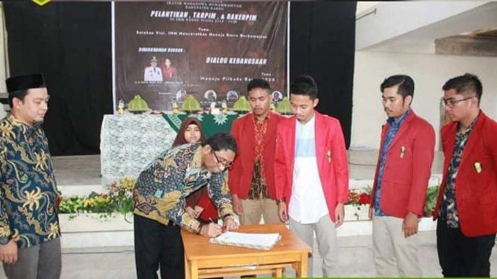 Wakil Bupati Barru Hadiri Pelantikan PC IMM Barru