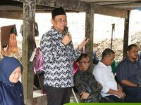 Bupati Barru Didampingi Anggota DPR RI Sapa Masyarakat di Desa Pujananting