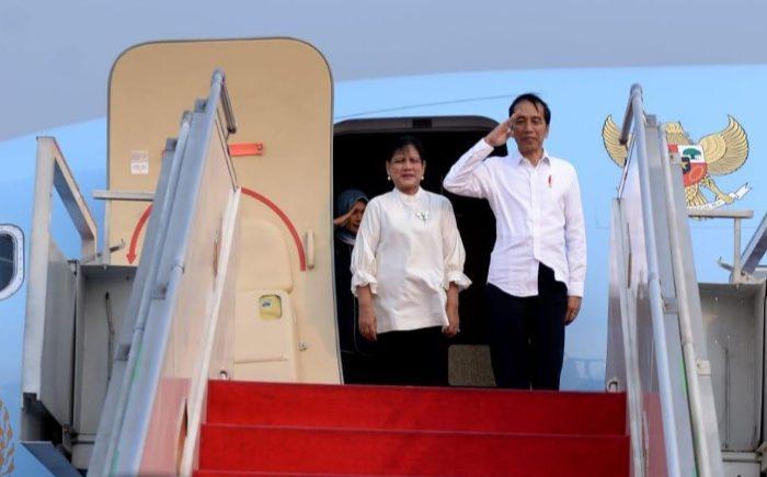Presiden Joko Widodo didampingi Ibu Negara Iriana Joko Widodo melakukan Kunjungan Kerja ke Papua.