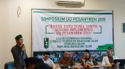Simposium UU Pesantren oleh Bakornas Lapenmi PB HMI.