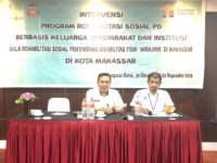 BRSPDF Wirajaya Latih 32 Orang Penyandang Disabilitas di Makassar Jadi Pengusaha