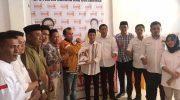 Jamaluddin Syamsir mengembalikan formulir bakal calon bupati Bulukumba di Kantor DPC Partai Hanura Bulukumba