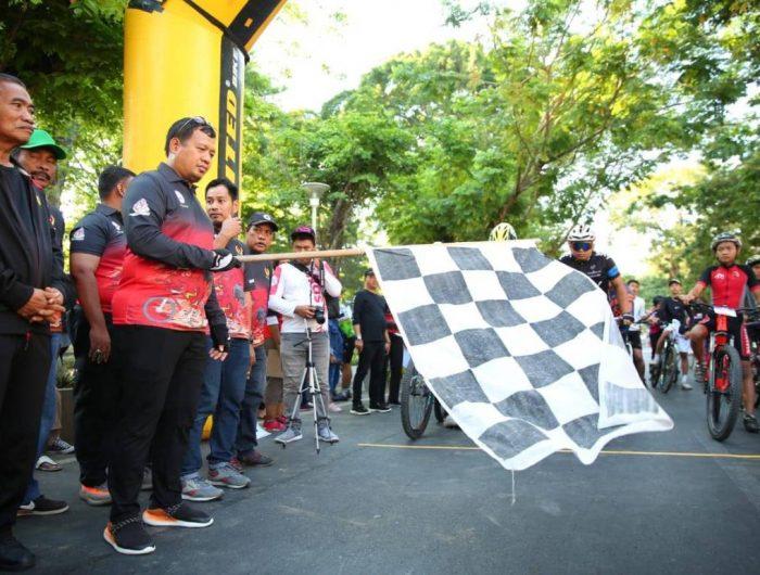 Ikatan Sport Sepeda Indonesia menggelar Lomba Balap Sepeda Wali Kota Cup 2019.