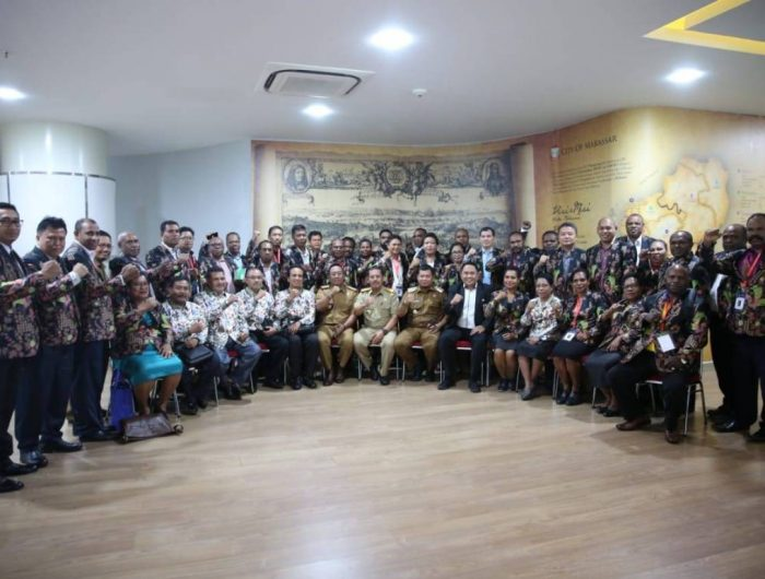 Pj Wali Kota Makassar Terima Kunjungan Studi Banding Pemprov Papua