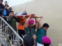 Ratusan Pengungsi Wamena Papua Tiba di Pelabuhan Makassar.