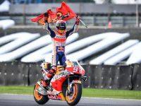 Marc Marquez menjalani tahun yang luar biasa di MotoGP 2019. (Lillian SUWANRUMPHA / AFP)