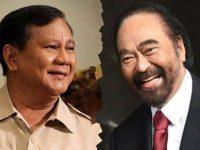 Bahas Agenda Politik, Prabowo dan Surya Paloh Bertemu Malam Ini