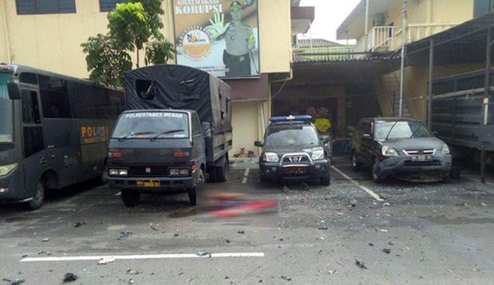 Polisi Sudah Tetapkan 23 Orang Tersangka Terkait Bom Bunuh Diri di Polrestabes Medan