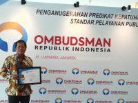 Soppeng Raih Penghargaan Pelayanan Publik Terbaik dari Ombudsman RI