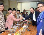 Pertemuan petinggi Partai Nasdem dan PKS di Kantor DPP PKS, Jalan TB Simatupang, Jakarta, Rabu (30/10/2019). Foto/dok PKS