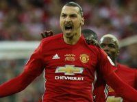 Zlatan Ibrahimovic saat masih berseragam Manchester United