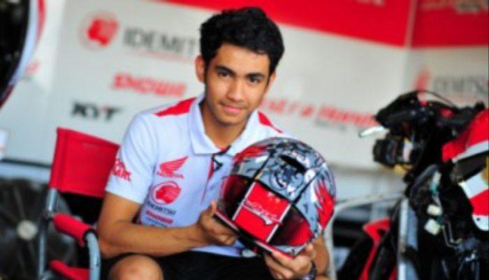 Mengenal Andi Gilang, Pembalap asal Sulsel di Moto2 2020