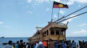 "Padewakang"" Perahu Legendaris Makassar, Berlayar ke Australia tanpa Mesin"