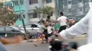 Viral Video Seorang Polisi Adu Jotos dengan Dua Anggota TNI di Jalan Raya