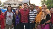 ART berkunjung ke Kelurahan Taipa, Kecamatan Palu Utara, Kota Palu, Jumat (15/11/2019).