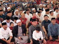 Ribuan Jamaah Padati Tabligh Akbar Ustad Adi Hidayat di Kabupaten Gowa