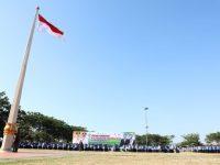 Peringatan Hari Kesehatan Nasional ke-55 di Lapangan Pantai Seruni, Kabupaten Bantaeng
