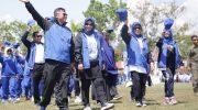 Pembukaan Pekan Olah Raga dan Seni (Porseni) ke V PGRI tingkat Sulsel di Barru, berlangsung sangat meriah