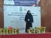 Lomba Pengucap Janji Prasetya Korpri antar ASN Lingkup Pemkab Sinjai