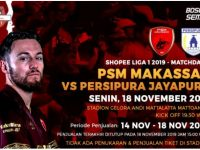 PSM Makassar Vs Persipura Jayapura.