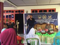 Anggota DPRD Sulsel, H. Irwan Sosialisasi Perda Perlindungan Lahan Pertanian.