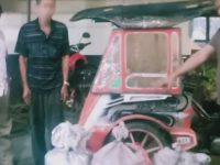 Polisi Amankan 50 Botol Ballo yang Diedarkan Pakai Bentor
