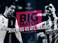 Live Streaming Liga Champions: Juventus vs Atletico Madrid