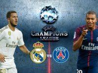 Liga Champions: Real Madrid vs Paris Saint Germain.