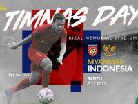 Timnas Indonesia vs Myanmar di Semifinal Sea Games 2019.