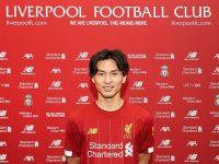 Takumi Minamino resmi Bergabung dengan Liverpool (Foto: Liverpool FC)