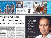 Presiden Joko Widodo (Jokowi) dianugerahi Asian of The Year dari media The Straits Times Singapura. Dok. Istimewa