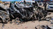Bom mobil meledak di Somalia (AFP)