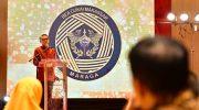Nurdin Abdullah dalam sambutannya, pada acara Bea dan Cukai Makassar Anugerah Ekspor 2019, Sulawesi Selatan untuk Dunia