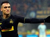 Bomber Inter Milan, Lautaro Martinez (c) ANSA via AP Photo