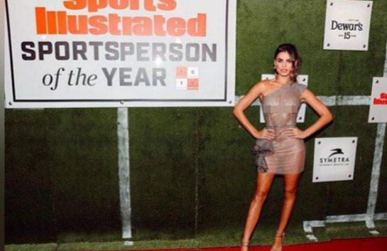 Brooks Nader tampil di acara penghargaan Sportsperson of the Year.