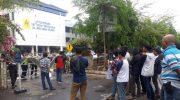 PERMAHII Geruduk Kantor Kejati Sulsel dan PLN Unit Induk Pembangunan