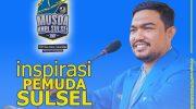Syamsul Bahri, Calon Ketua DPD KNPI Sulsel.