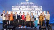 Pertemuan Tahunan Bank Indonesia (PTBI) 2019 dengan tema Sinergi, Transformasi, Inovasi menuju Indonesia Maju.
