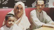 Ustaz Abdul Somad (UAS) bersama mantan istrinya, Mellya Juniarti. (Foto: Instagram)