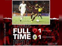 PSM Makassar saat menjamu PSS Sleman dalam lanjutan Liga 1 2019 berakhir imbang 1-1