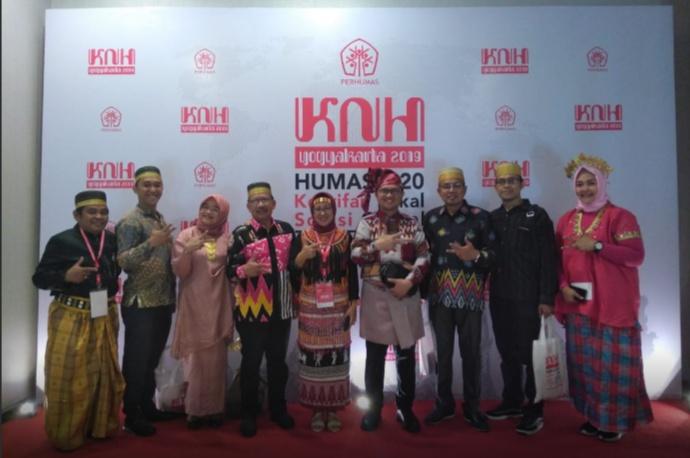 Biro Humas Setda Sulawesi Selatan (Sulsel) mengikuti Konvensi Nasional Humas (HKN) 2019 di Yogyakarta.