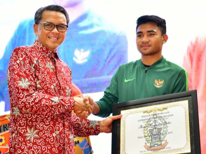 Gubernur Nurdin Abdullah Serahkan Bonus Atlet SEA Games asal Sulsel