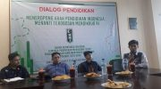 Bakornas Lapenmi) Pengurus Besar Himpunan Mahasiswa Islam (PB HMI) sukses menggelar Dilaog Pendidikan.