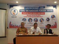 Launching Insting Institute dan Temu Ide-Gagasan Pemuda Sulsel (Starting Poin Sulsel, 2020-2023).