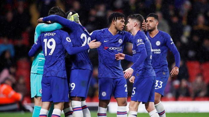 Skuat Chelsea (Foto: Reuters)